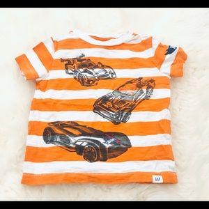Baby Gap Hot Wheels t-shirt 18-24 months